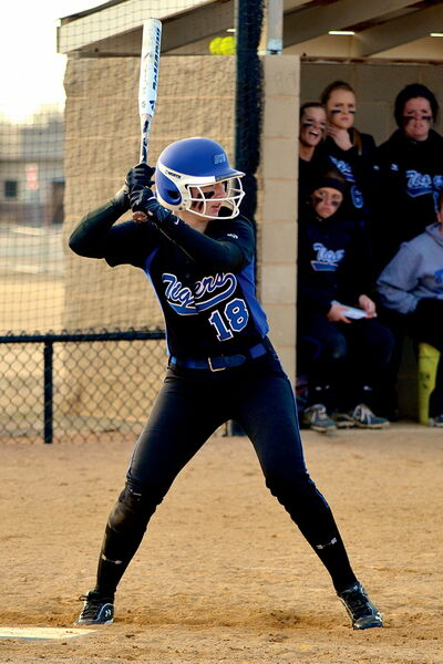 Hailey Unger, an Oak Park HIgh School graduate and softball player, will represent Manitoba at the 2013 Canada Summer Games in Sherbrooke, Que.