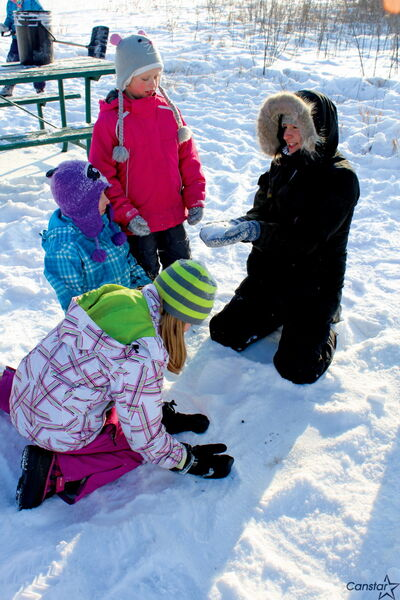 City youth visited the Living Prairie Museum to learn about animal habits and winter survival on Jan. 2.