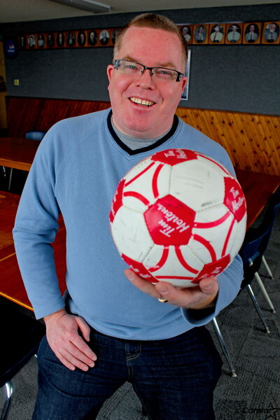 Tom Connon wants to find convenors so that soccer players in Kirkfield Westwood won't need to travel to other areas to play.