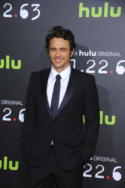 Vince Bucci / The Associated press files</p><p>Author (and actor) James Franco</p>