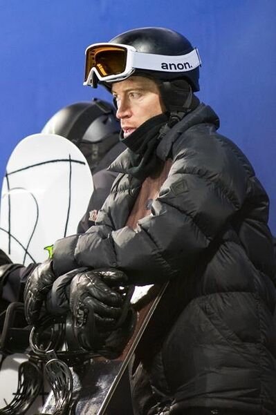 FILE - In this Jan. 24, 2018, file photo, U.S. halfpipe snowboarder Shaun White waits to take a practice run Wednesday, Jan. 24, 2018, at the Winter X Games in Aspen, Colo. White has redoubled his effort on the halfpipe. And in the end, one thing really hasn't changed. He is still the biggest name in his sport, and all eyes will still be on him when the gold medal is at stake in Pyeongchang on Feb. 14. (Anna Stonehouse/The Aspen Times via AP, File)