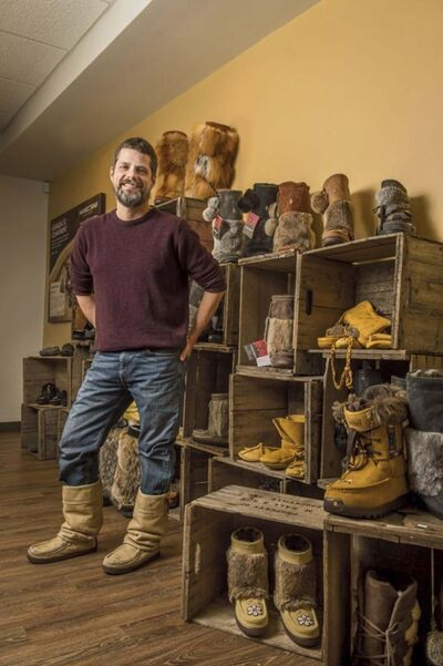 Sean McCormick, founder of Manitoba mukluks.</p></p>