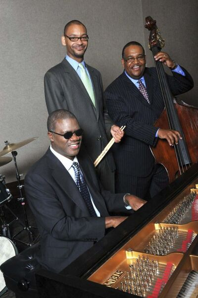 SUPPLIED</p><p>Marcus Roberts (from left), Jason Marsalis and Rodney Jordan will perform at the Berney Theatre on Saturday and Sunday.</p>
