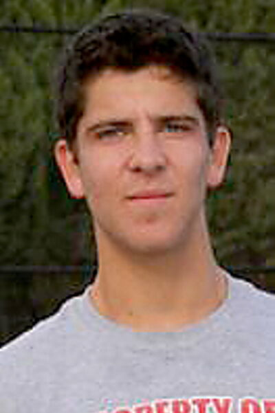Saul Shrom was one of three Winnipeggers on the CSU-Pueblo men's tennis team this year.