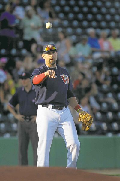 Goldeyes third baseman Jake Blackwood returned July 10, but hasn't been 100 per cent until recently.