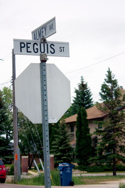 With Almey Avenue set to be blocked near Lagimodiere Boulevard beginning in 2015, it won't act as a shortcut from Peguis Street.