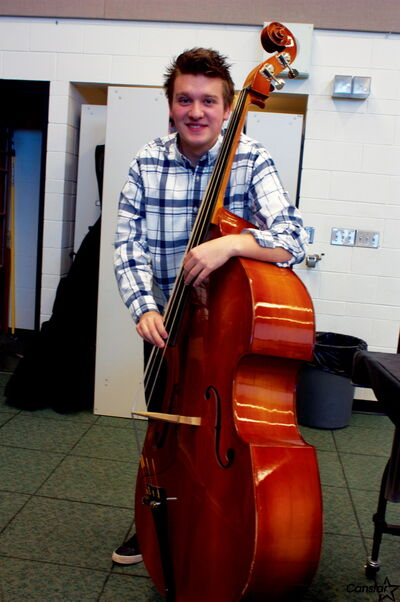 Transcona Collegiate Institute student Devon Gillingham recently won the Essentially Ellington Gerhard W. Vosshall Student Composition/Arranging contest.