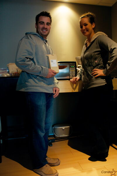 Husband and wife team Kazwel and Kaylie Levandoski started selling freshly-roasted coffee beans out of their Transcona home as K2 Coffee.