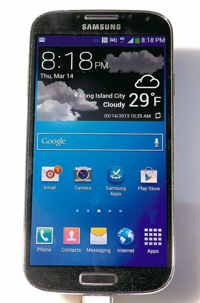 The Samsung Galaxy S4 comes with all the latest bells and whistles.