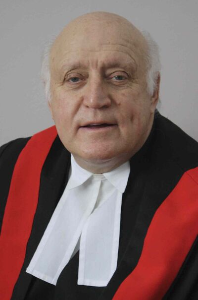 Provincial court Judge John Guy.