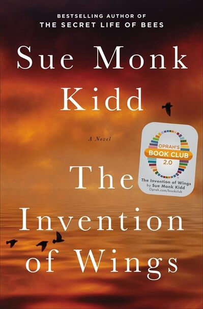 """This book cover image released by Viking shows """"The Invention of Wings,"""" by Sue Monk Kidd, which will be released in January 2014. Oprah Winfrey has chosen the book as her latest book club selection. (AP Photo/Viking)"""