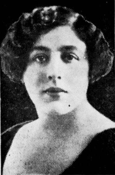 <p>Ruth Jacobs in a photo published in the Manitoban in November 1930.</p>