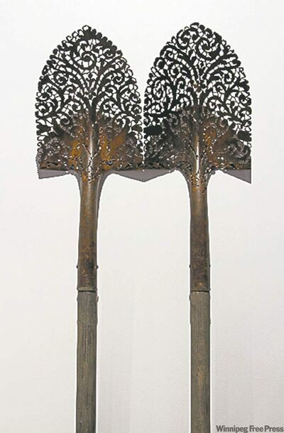 Lane's untitled shovels