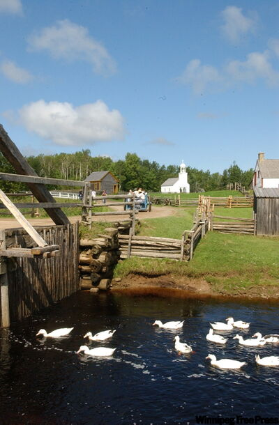The Acadian Historic Village presents an authentic picture of Acadian settlement in the region.