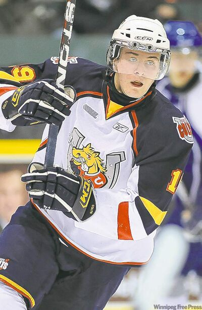 Mark Scheifele scored 22 goals and added 53 assists in 66 games with the Barrie Colts.