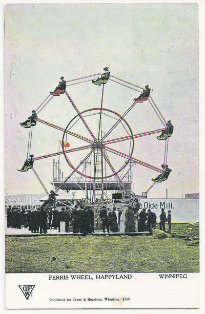 The ferris wheel was one of the many attractions Happyland Park had to offer.