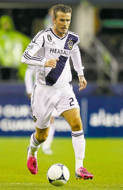 David Beckham won't be hurting for job offers after his last game with L.A. Galaxy today.