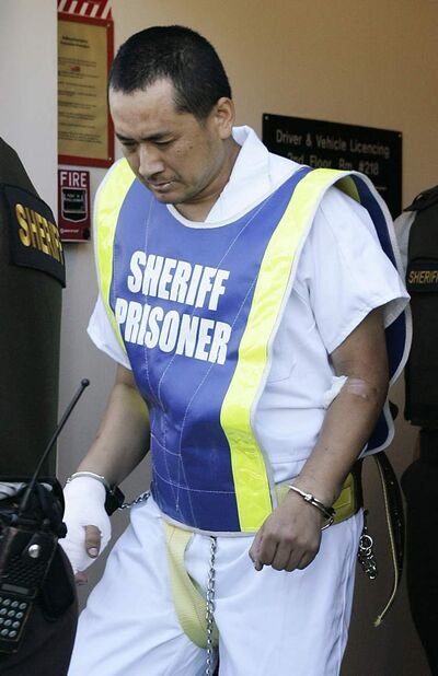 Vince Li, seen in 2008, will be allowed visits into the city of Selkirk. He must be accompanied by a peace officer and nurse.