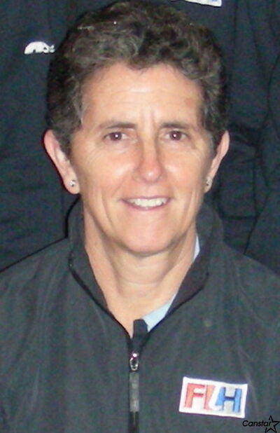 Paula Parks has worked as a field hockey official in all parts of the world, but will be working at her first Olympics later this month in London.