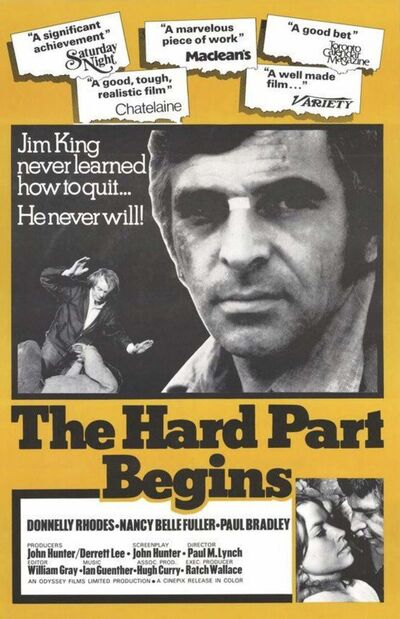 CANUXPLOITATION.COM</p><p>Rhodes received critical acclaim for his lead role in 1973&#39;s The Hard Part Begins.</p>