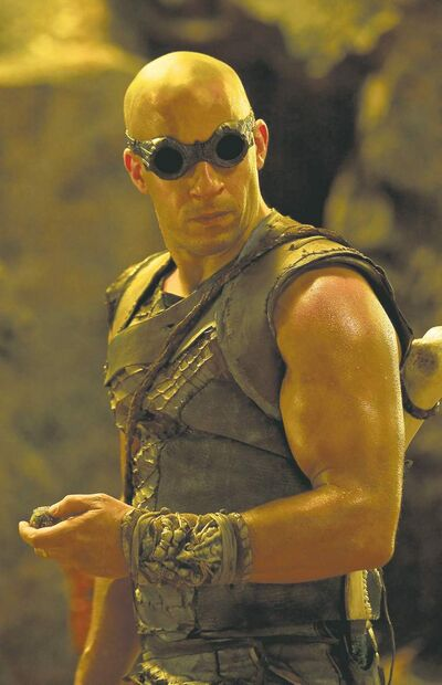 Vin Diesel reprises his role as the antihero in Riddick.