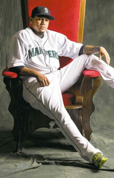 Dean Rutz / MCT  filesFelix Hernandez, known as King Felix to Seattle Mariners fans, lolls unmajestically on his throne.
