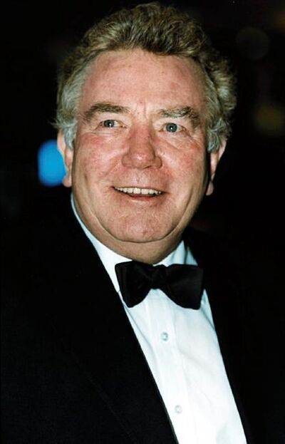 "FILE - In this Feb. 25, 2001 file photo, actor Albert Finney, poses for a photo. British Actor Albert Finney, the Academy Award-nominated star of films from ""Tom Jones"" to ""Skyfall"" has died at the age of 82 it was reported on Friday, Feb. 8, 2019. (William Conran/PA via AP, FIle)"