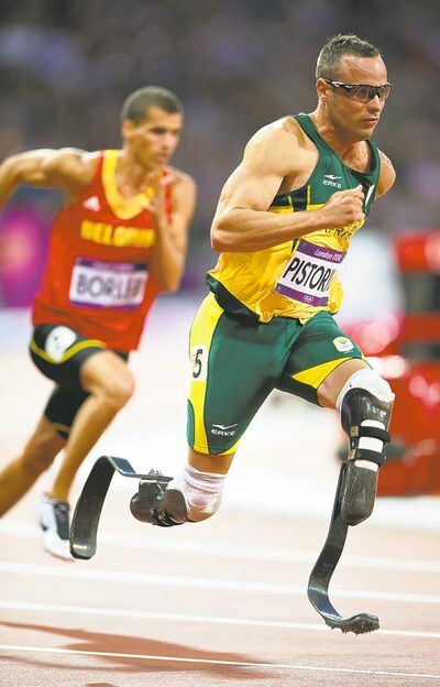 Oscar Pistorius is revered for overcoming his disability.