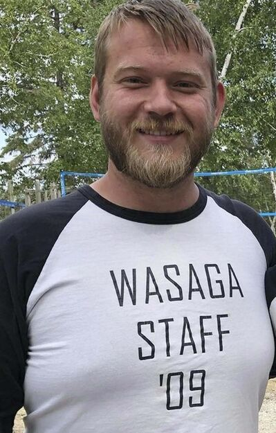 """Directeur du camp Tyler Lischynski.</p> <p>""""/><br /> </a><figcaption> <p>The director of the camp Tyler Lischynski.</p> </figcaption></figure> <p>These relationships between families and among other campers are enriching and revisited each summer.</p> <p>For the past two years, however, Wasaga has been unable to hold its camp due to public health restrictions during the pandemic.</p> <p>Although day camps are permitted in the province, Lischynski said Camp Wasaga is too far from the city to function as a day camp.</p> <div class="""
