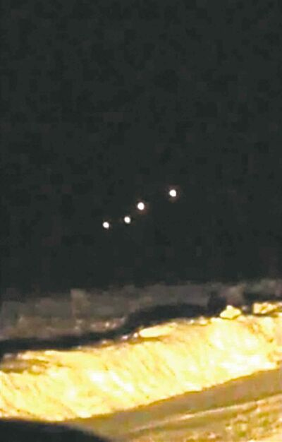 A video taken east of Brandon captured parachute flares from CFB Shilo, says the Manitoba Museum's Scott Young.