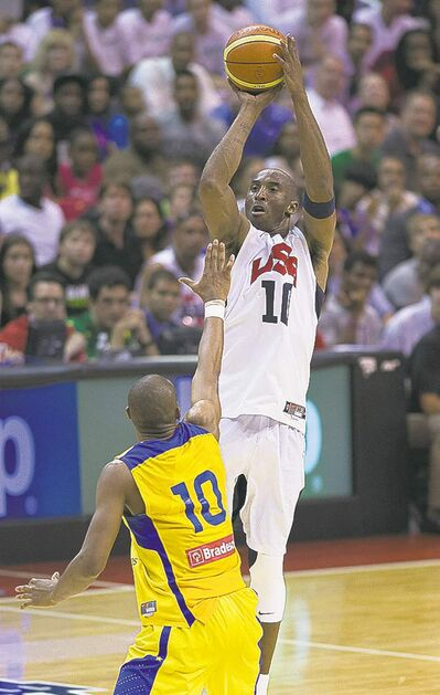 """Team USA's Kobe Bryant called David Stern's proposed 23-and-under rule for Olympics play """"stupid."""""""