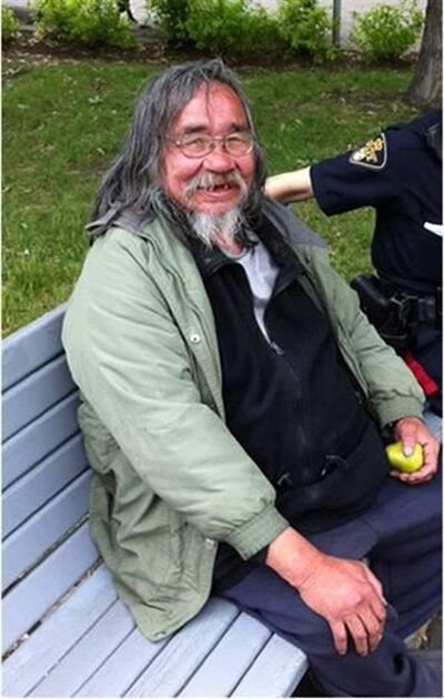 Alvin Cote is shown in a photo posted to the Saskatoon Police Service Facebook Page on Thursday April 25, 2013. THE CANADIAN PRESS/HO