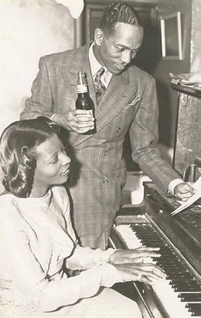 Mary Lou Williams and Andy Kirk