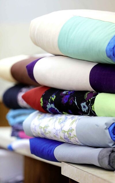The women from Springstein Mennonite Church are holding a drive to make and collect 6,500 blankets in one day.