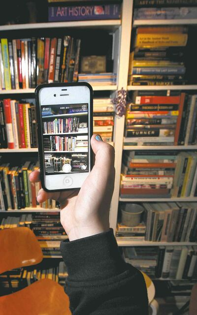 Shelfies: a new twist on the narcissistic selfie