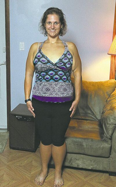 Tammy Ducharme shows off her 130-pound weight loss