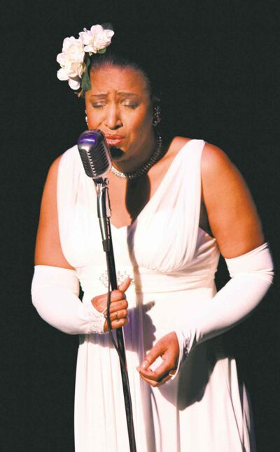 Vanessa Rubin first sang Billie Holiday's God Bless This Child in a beauty pagent.