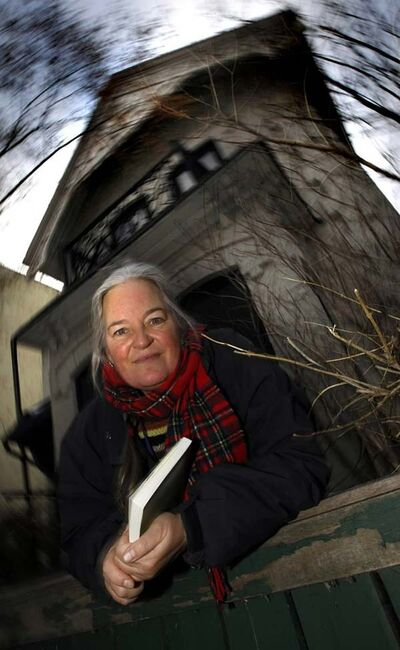 A historic city house may be history. Rae Bridgman hopes not. The author has prominently featured Kelly House in her popular fantasy books. But the owner of the Adelaide Street building--which needs extensive repairs--wants the city to remove its heritage status to pave the way for a parking lot.