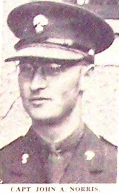 Photo of Norris as it appeared in the May 11, 1942 edition of the Winnipeg Free Press.