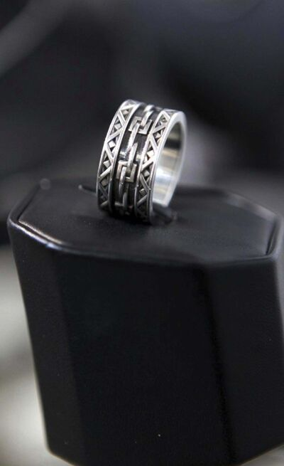 An example of a custom-designed ring.</p></p>