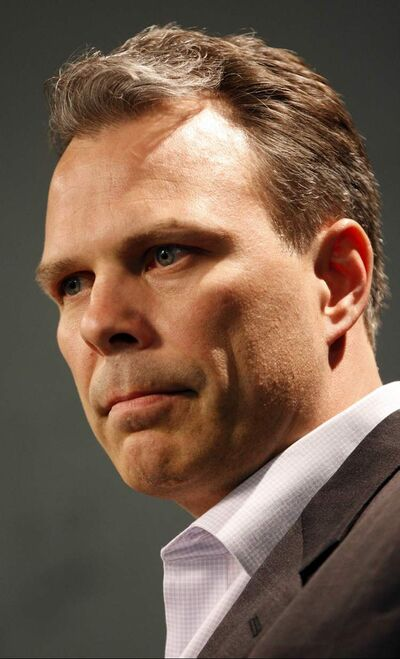 Winnipeg Jets GM Kevin Cheveldayoff.