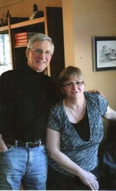 SUPPLIED</p><p>Thelma Krull and her brother, Bill Therriault.</p>