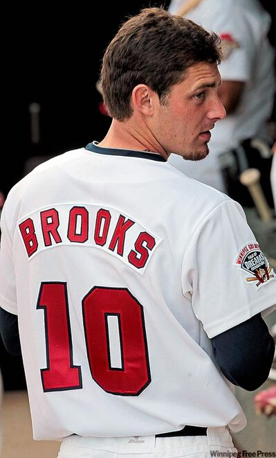 Patrick Brooks is Goldeyes' new shortstop as Price Kendall heals.