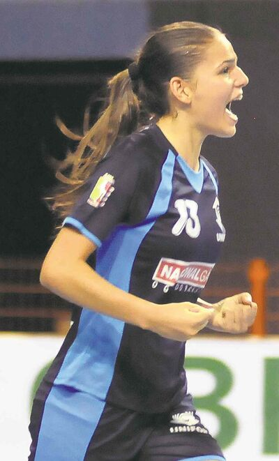 Brazil's Bruna Mavignier de Vasconcelos is bringing futsal skills to the Herd.