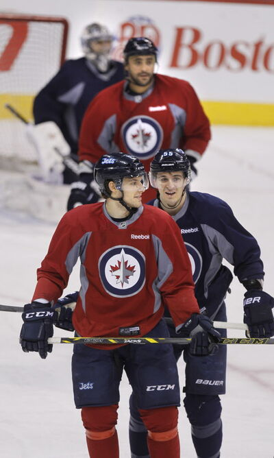 The Jets, who worked out Monday at the MTS Centre, won't be changing their style despite the stream of penalties.