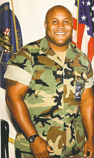 An undated photo released by the Los Angeles Police Department shows suspect Christopher Dorner.
