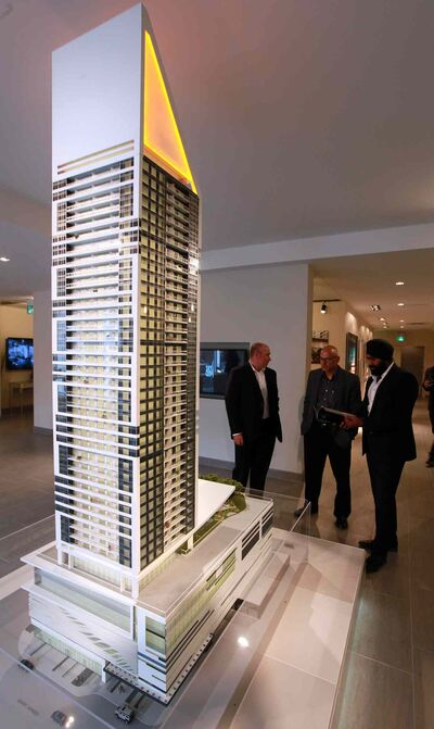The proposed SkyCity Centre condo-business tower project is one to watch in 2016.