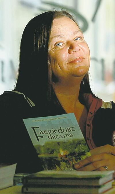 Trudy Andrew said she has been unable to travel  to research her novels since the infection.