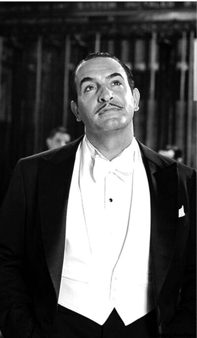 French actor Jean Dujardin has that old-timey star quality.