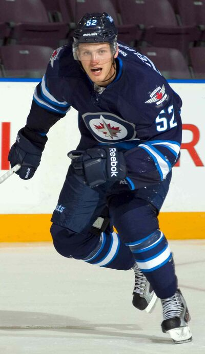 The Winnipeg Jets have suspended Ivan Telegin.